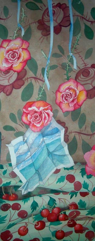 Door Rose by Helen R Klebesadel