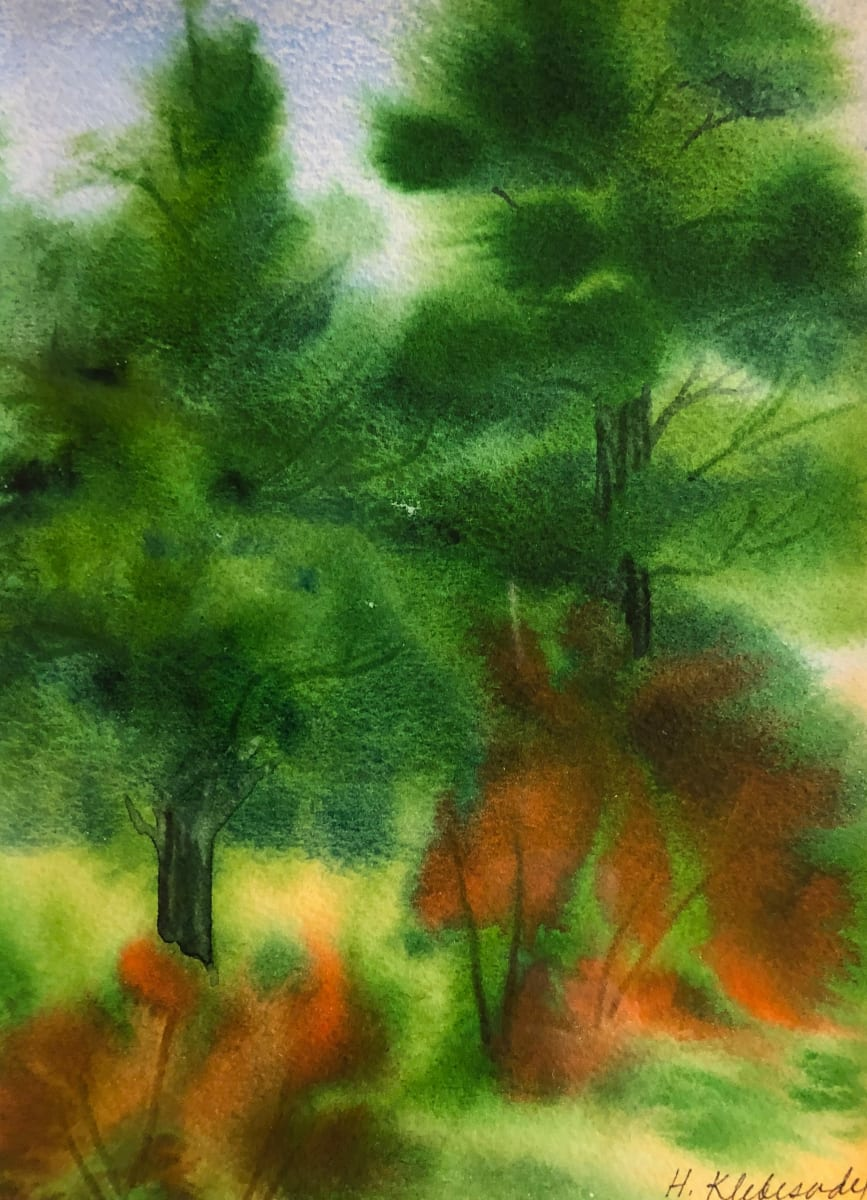 Pine Study I by Helen R Klebesadel