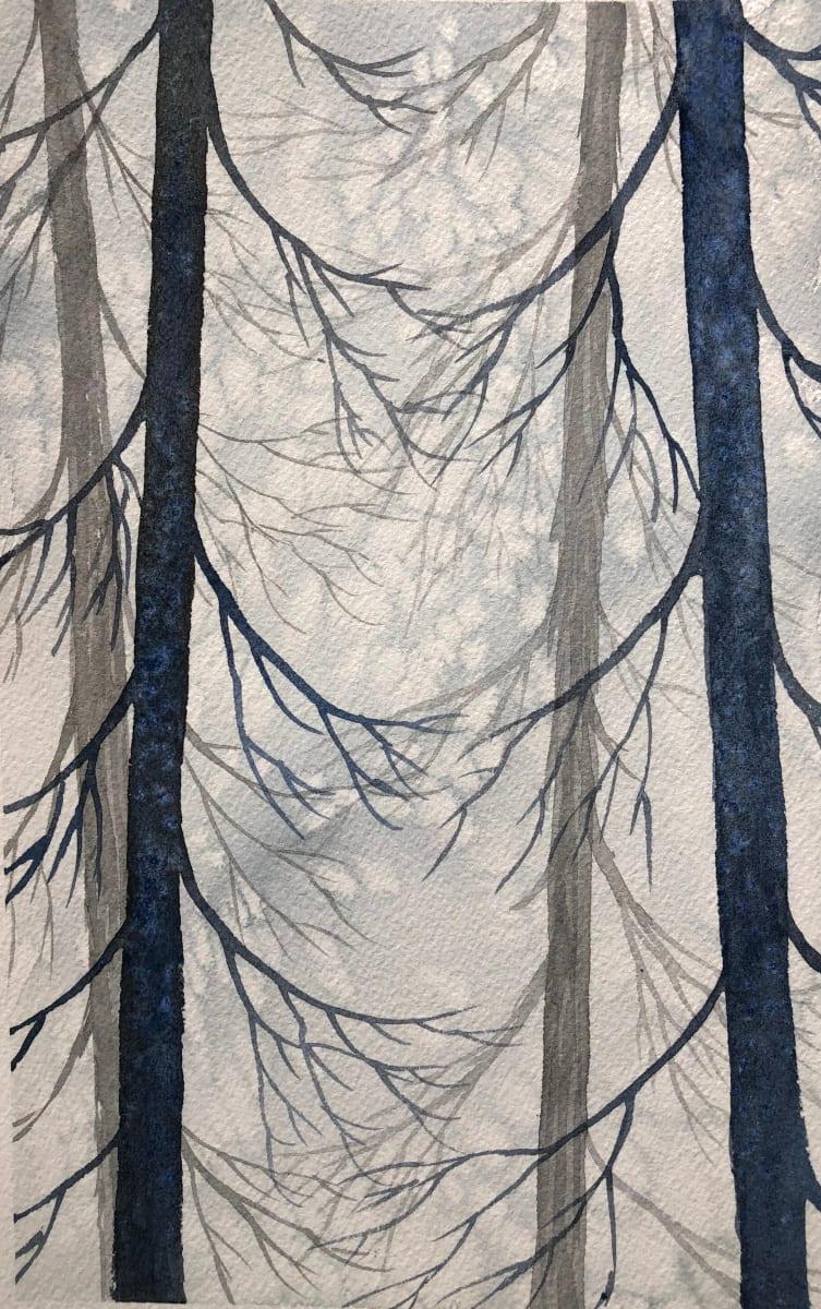 Salt Trees II by Helen R Klebesadel