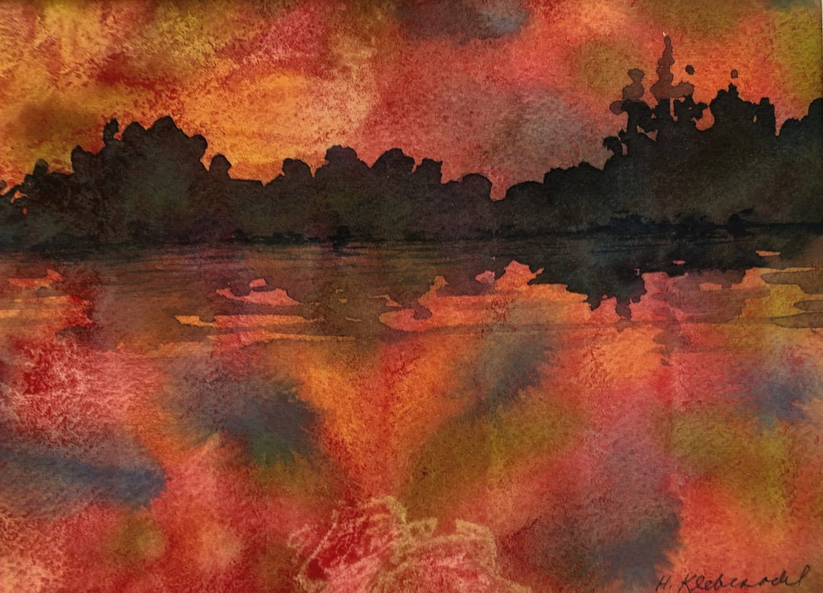 Red Lake Study I by Helen R Klebesadel