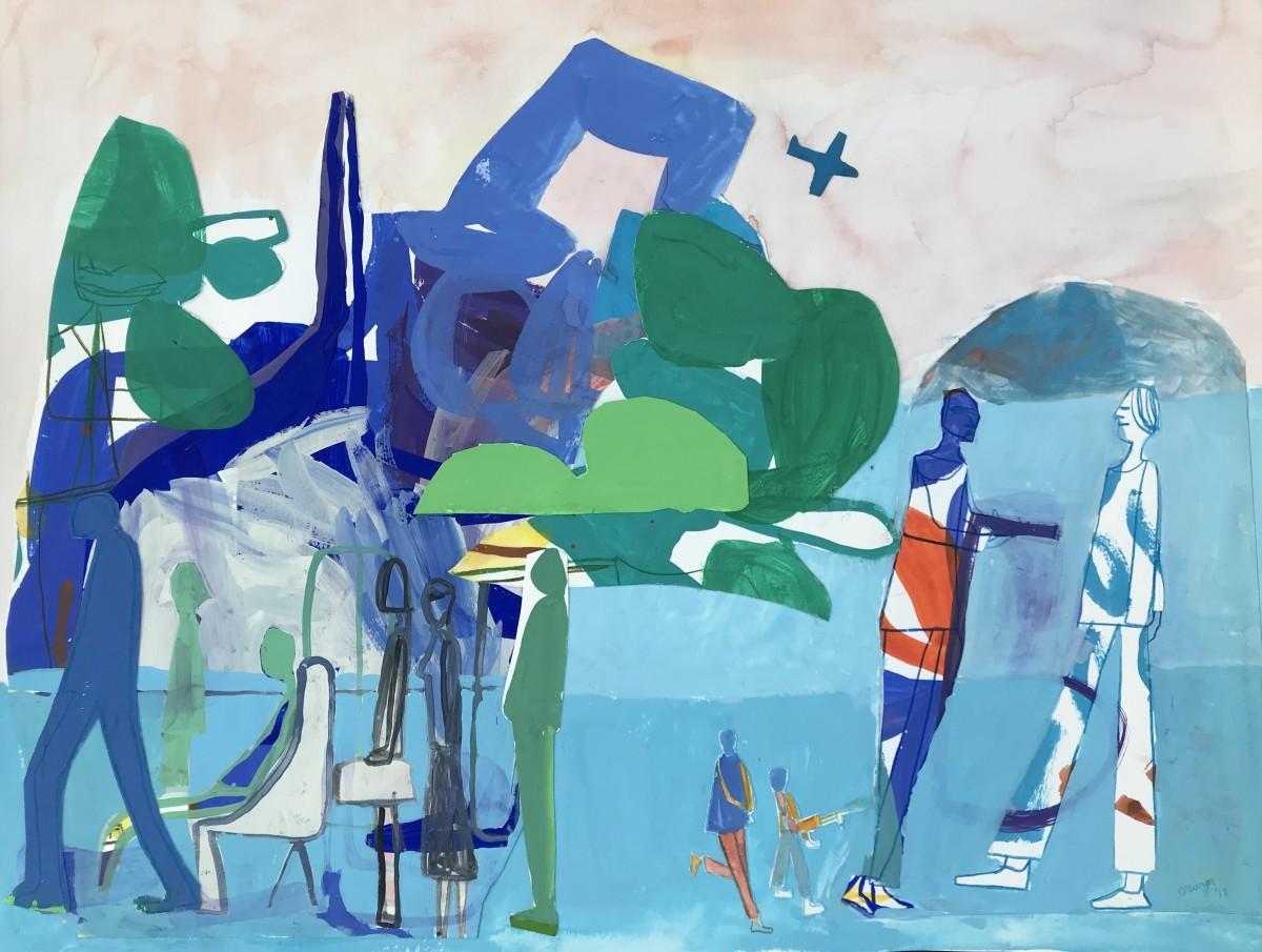 Tropical Holdup by Caley O'Dwyer