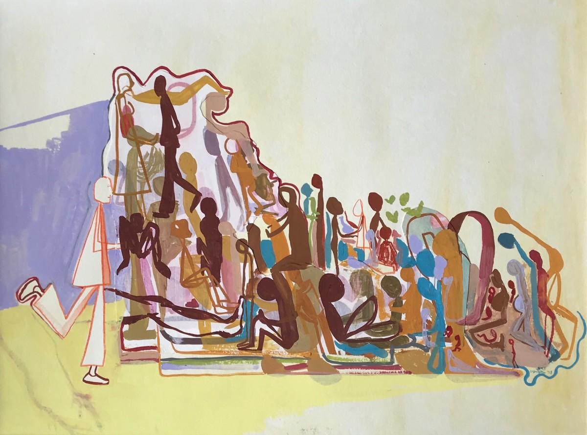 En Masse (2018) by Caley O'Dwyer