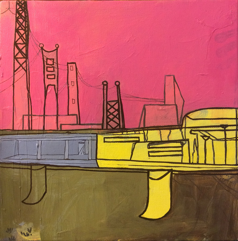 Riverside (2016) by Caley O'Dwyer