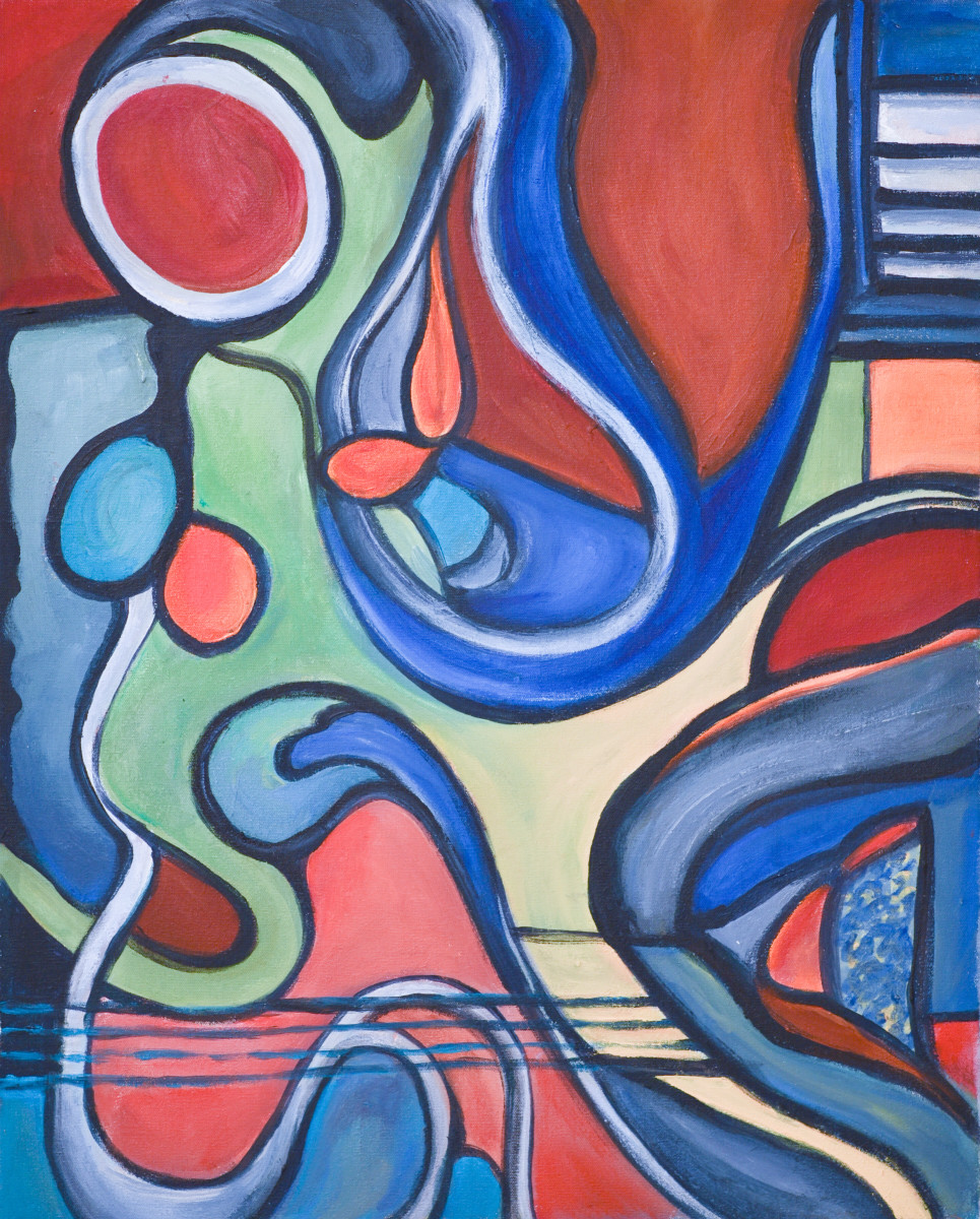 Abstract Forms 1 by Yolanda Velasquez
