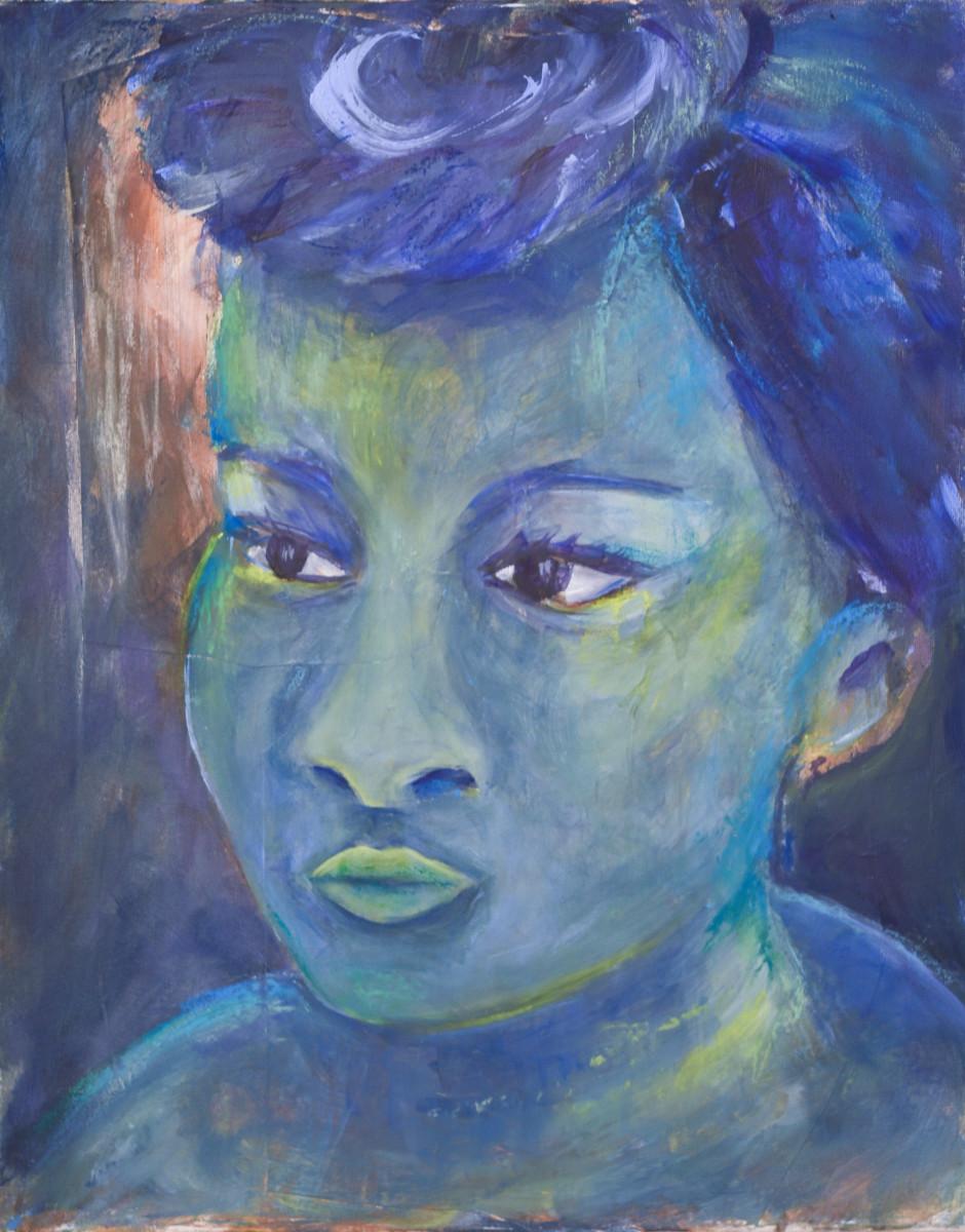 Blue by Yolanda Velasquez