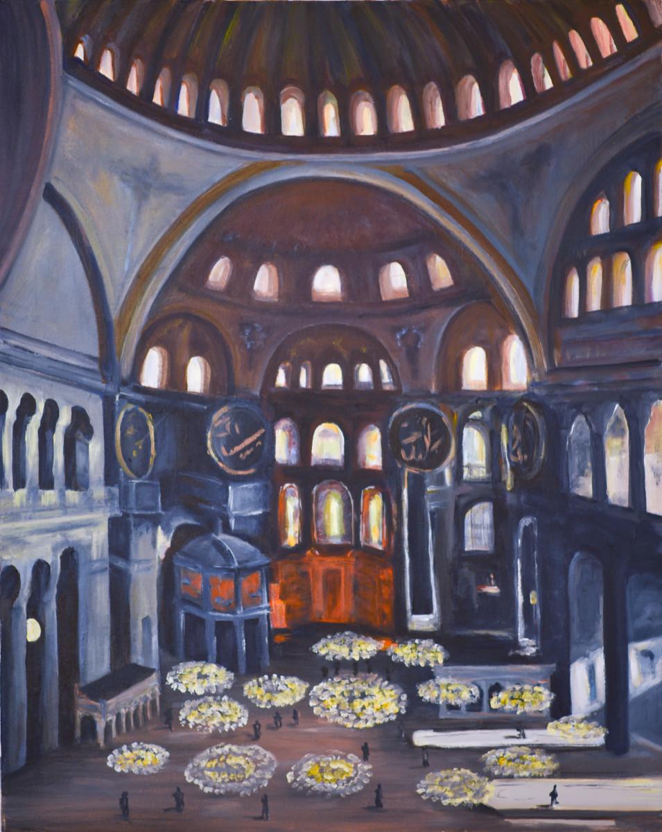 Hagia Sofia by Yolanda Velasquez