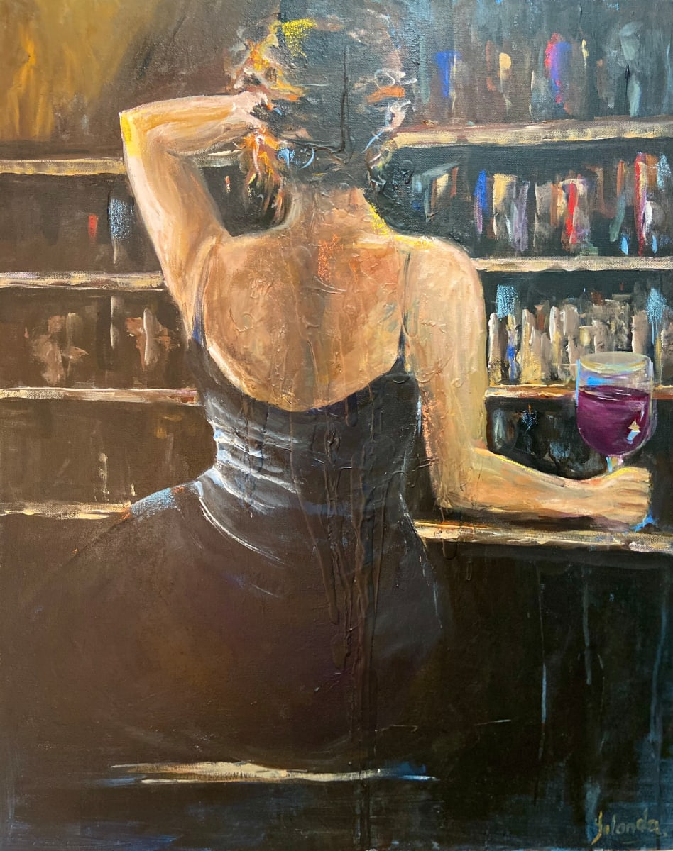 On Black by Yolanda Velasquez