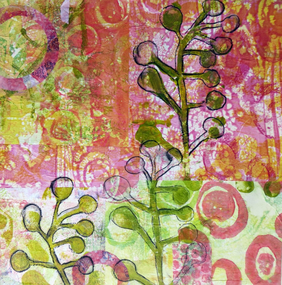 Poke Berry Sundae by Jane LaFazio