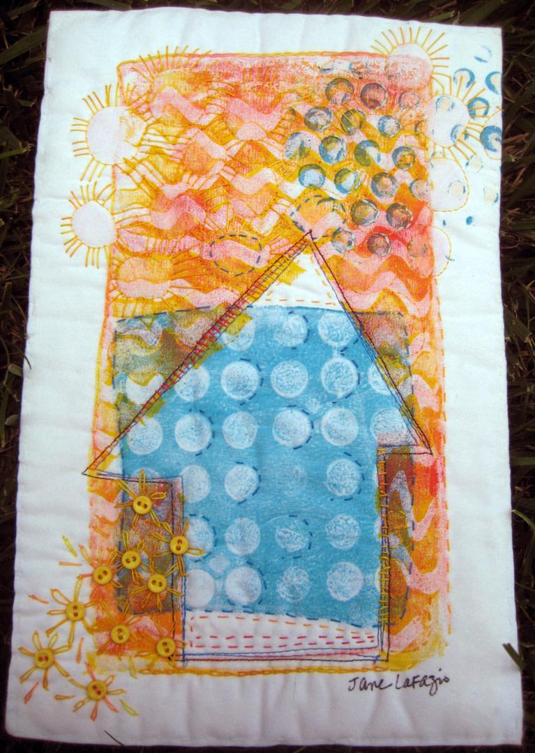 Orange Sky House by Jane LaFazio