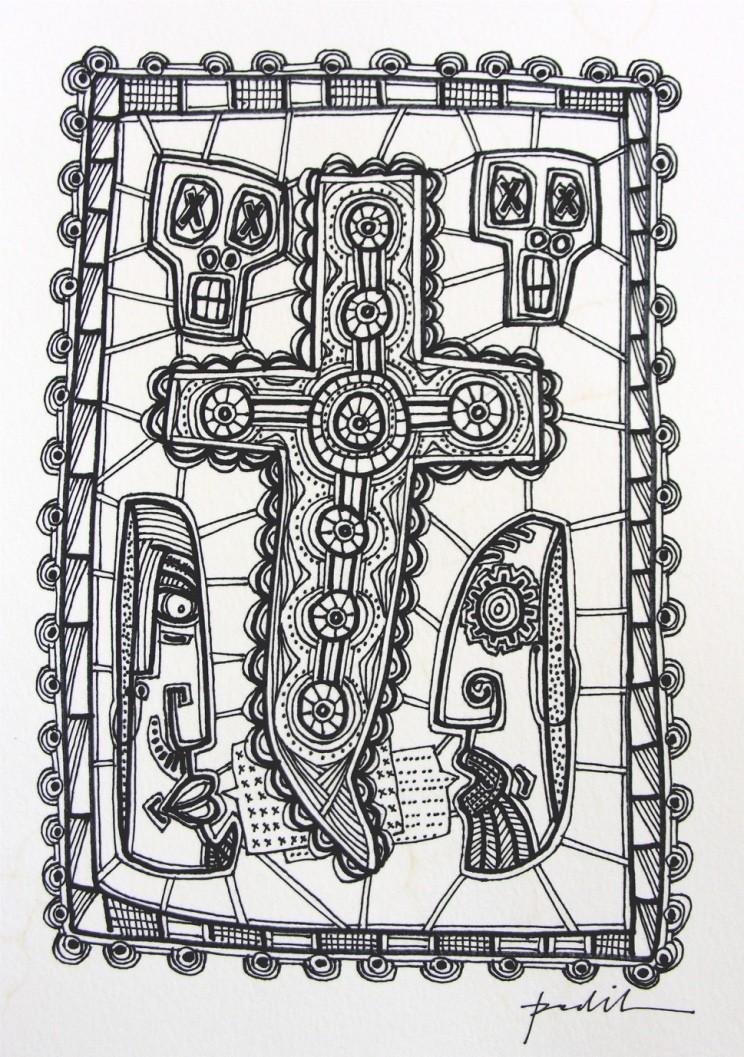 Cross 23 by Dougie Padilla