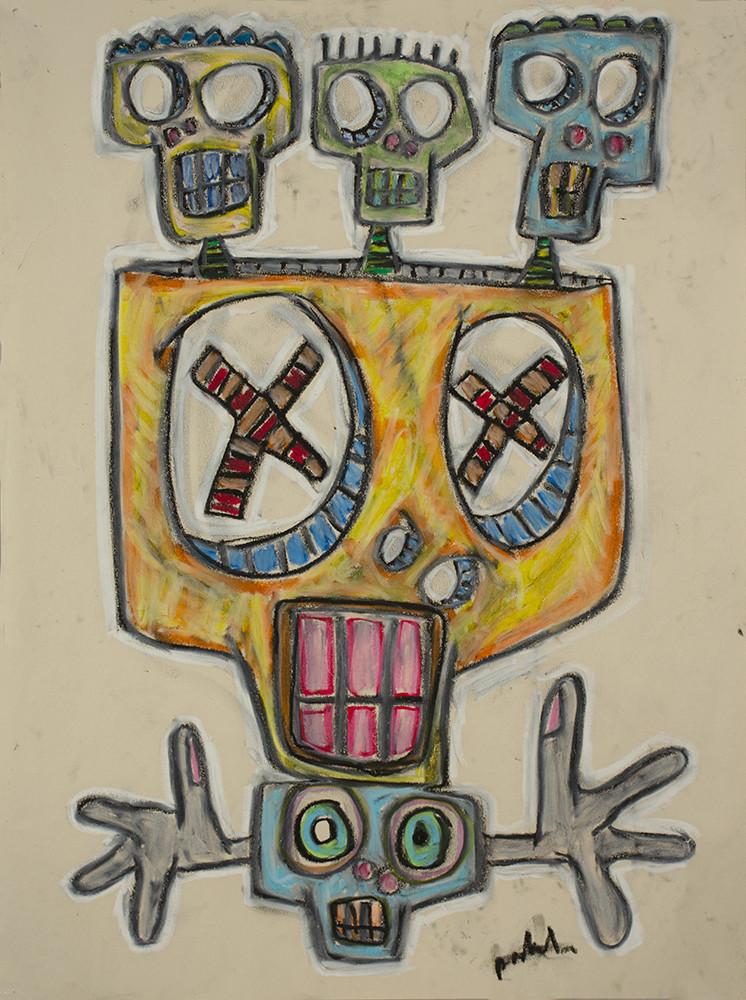 Arbol de Calaveras (Tree of Skulls) by Dougie Padilla