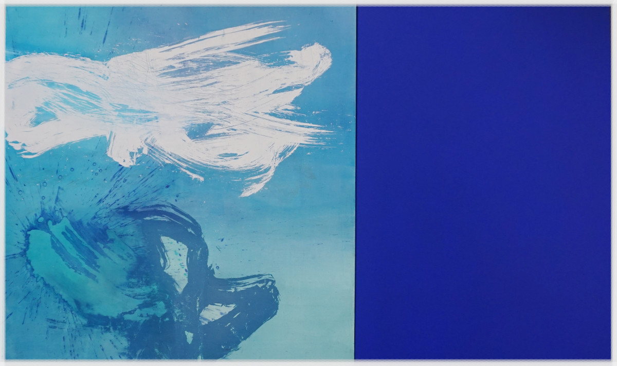 Exuberance Blue by shih yun yeo