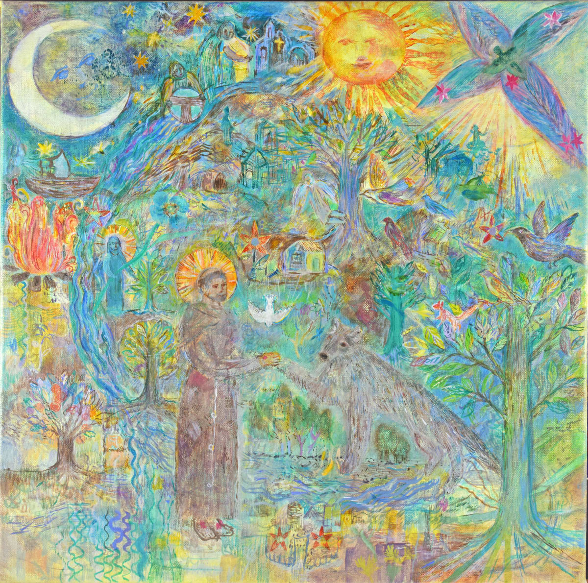 Saint Francis in the World by Andrea McLean