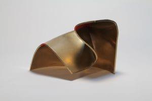 Folded Form 4 Gold by Joe Gitterman