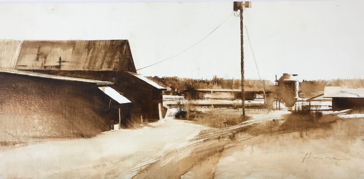 HARLOW FARM, MARCH by Charlie Hunter
