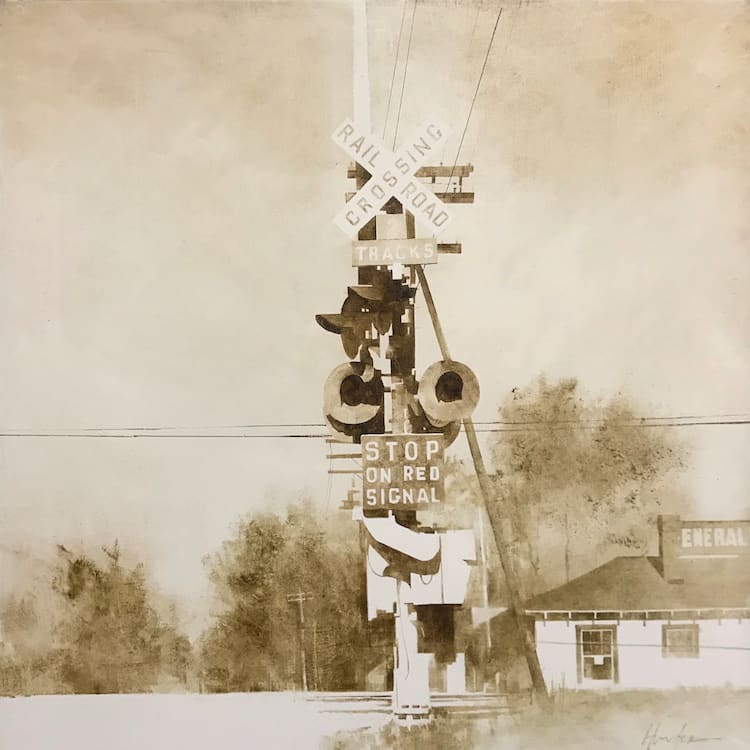 RAILROAD CROSSING by Charlie Hunter