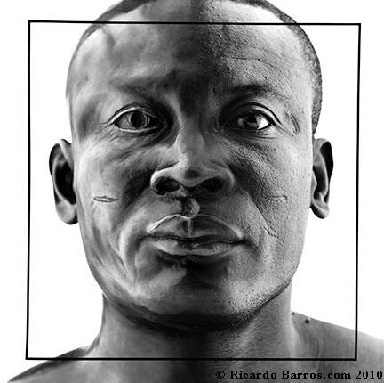 Joseph Acquah, Half Bronze by Ricardo Barros