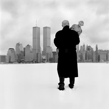 Vladimir Kanevsky with New York Skyline by Ricardo Barros