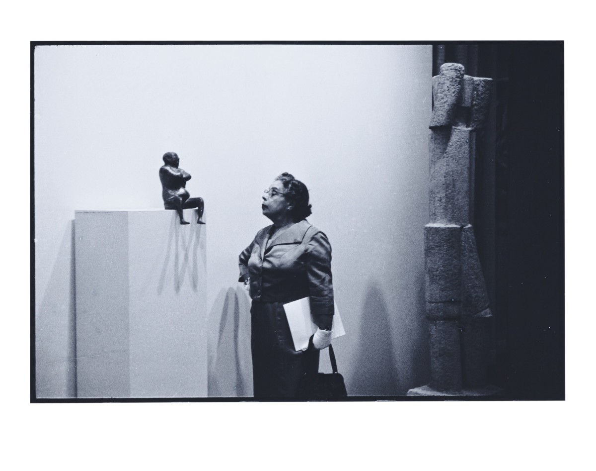 Museum of Modern Art by Eve Arnold
