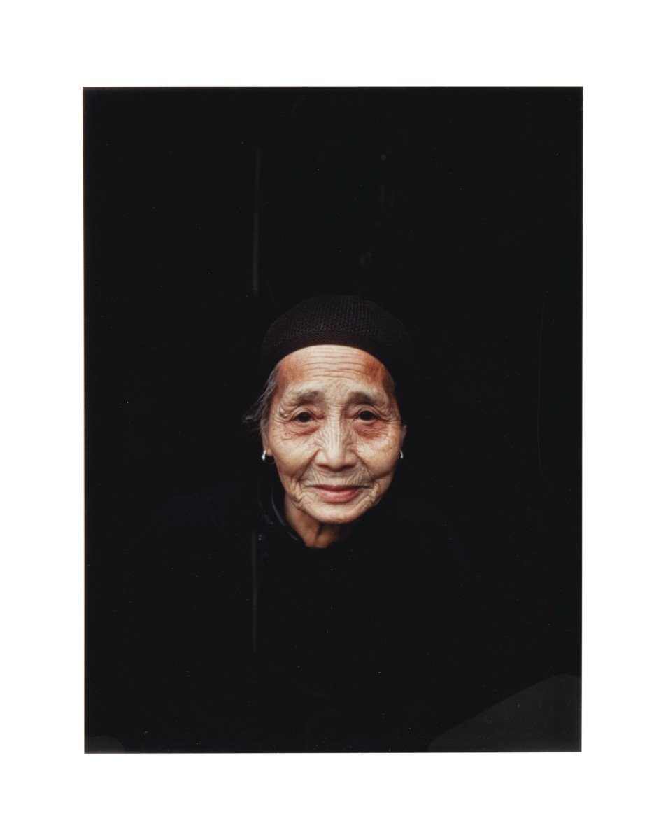 Retired worker, Guelin China by Eve Arnold