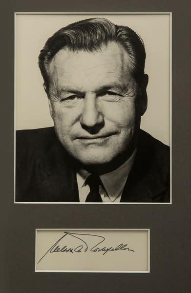 Untitled (Nelson Rockefeller) by Artist Unknown