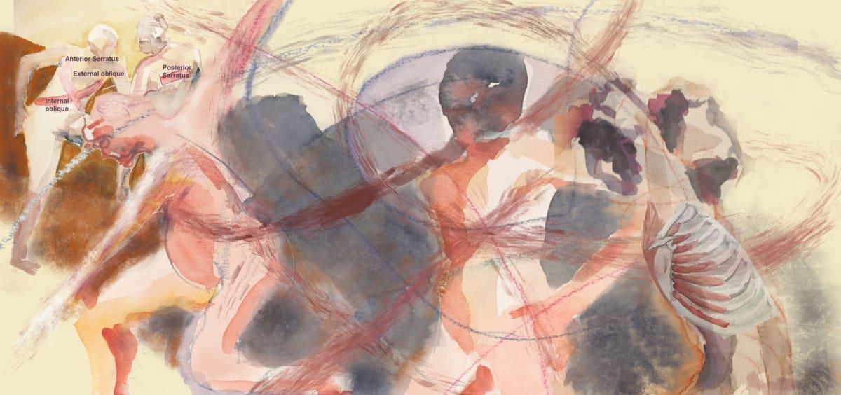 Serratus Dance by Lesley A. Powell
