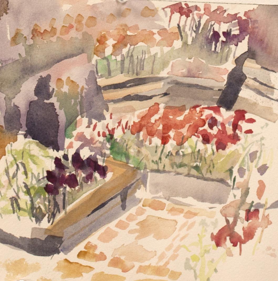 Westside Garden & Tulips 3