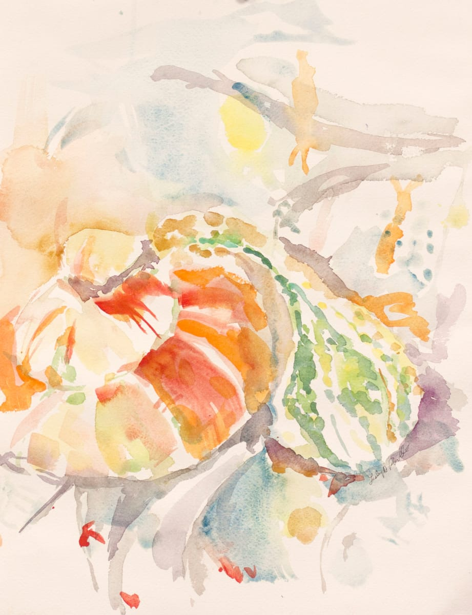 Fall Gourds 1 by Lesley A. Powell