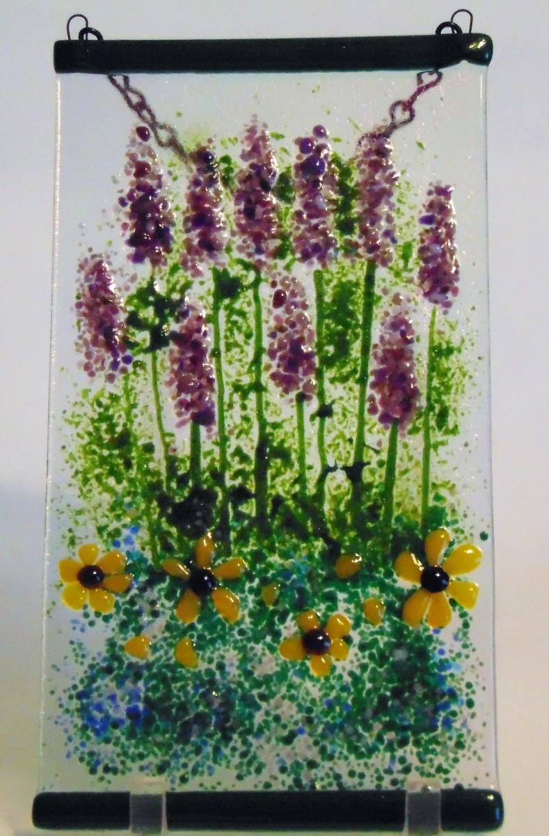 Garden Hanger-Lavender & Daisies