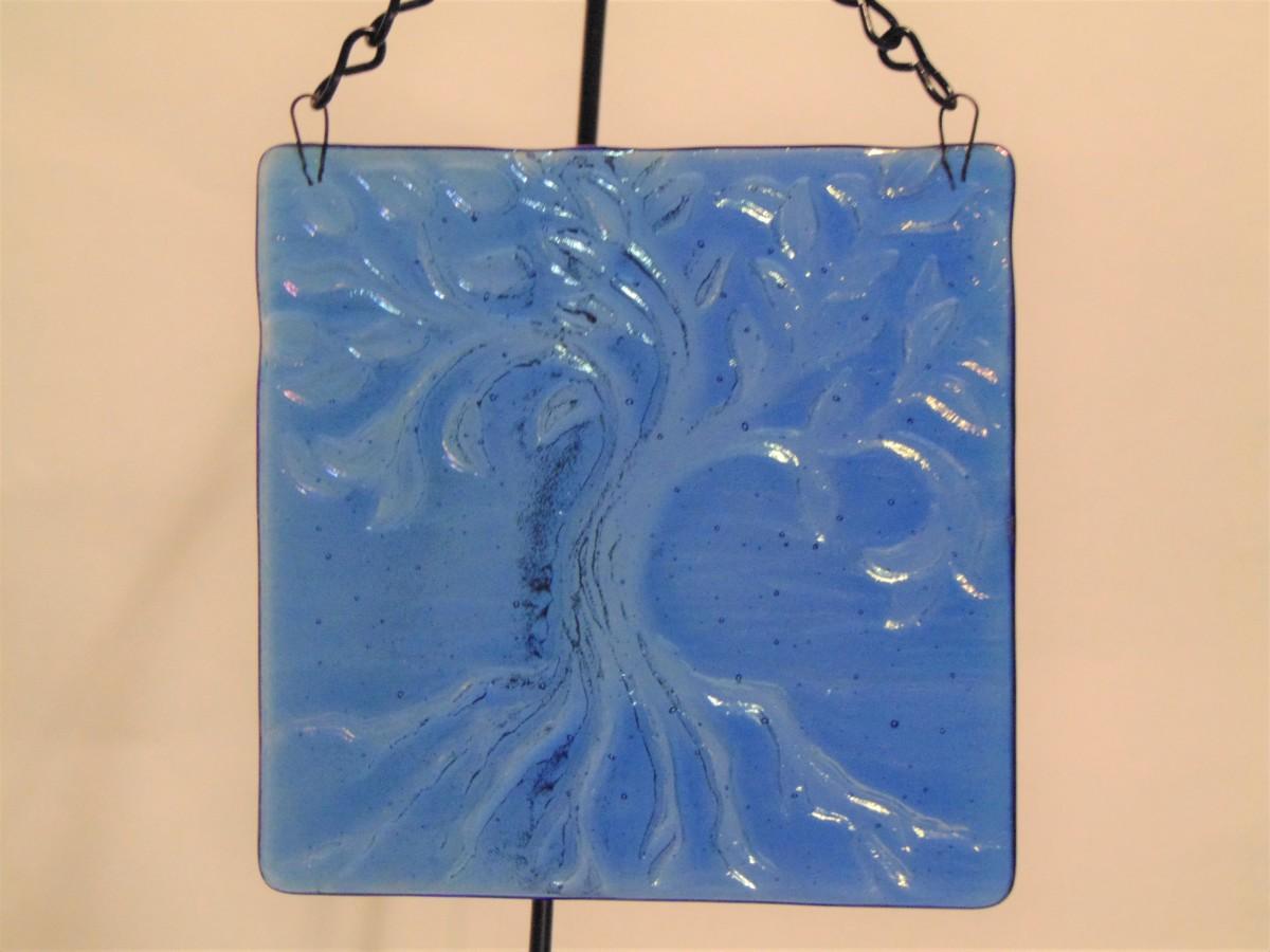 Tree of Life Hanger, Small-Blue Irid