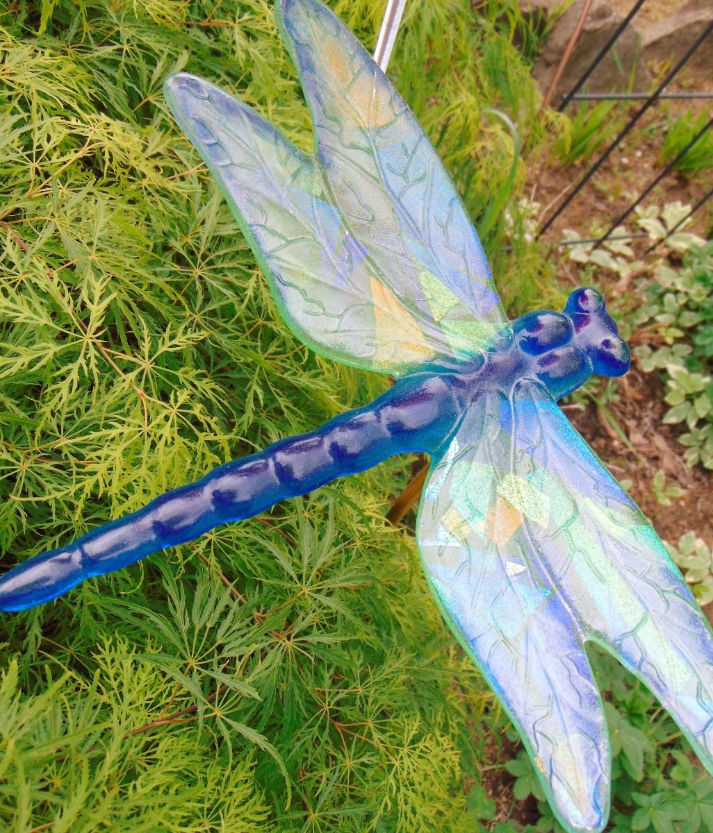Dragonfly Yard Art