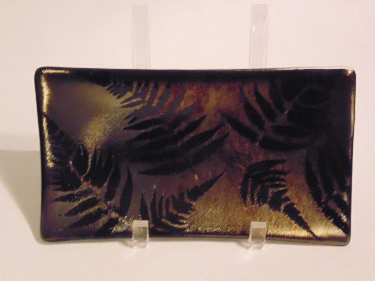 Rectangular Plate-Fern on irid