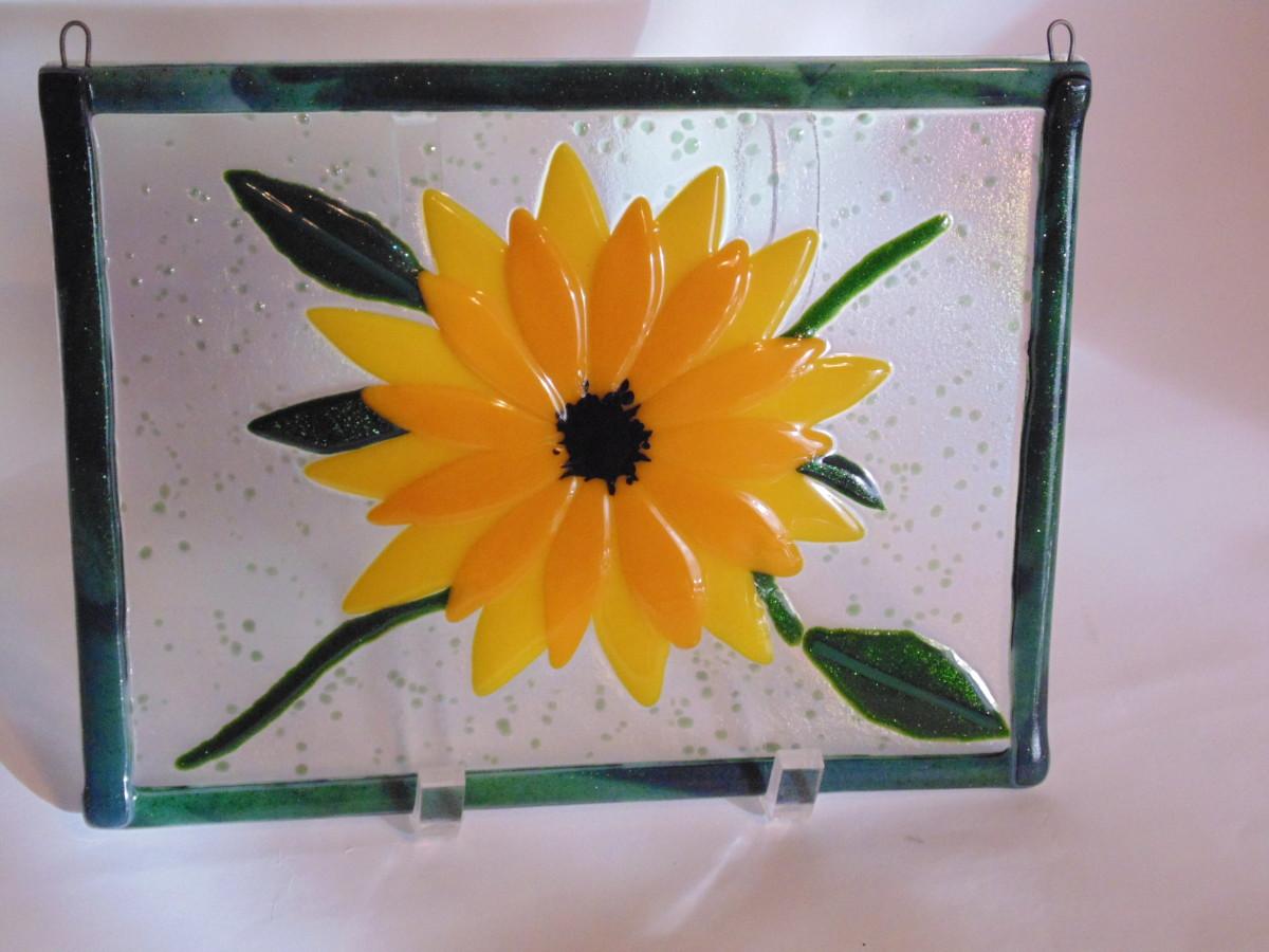 Garden Hanger-Single Sunflower
