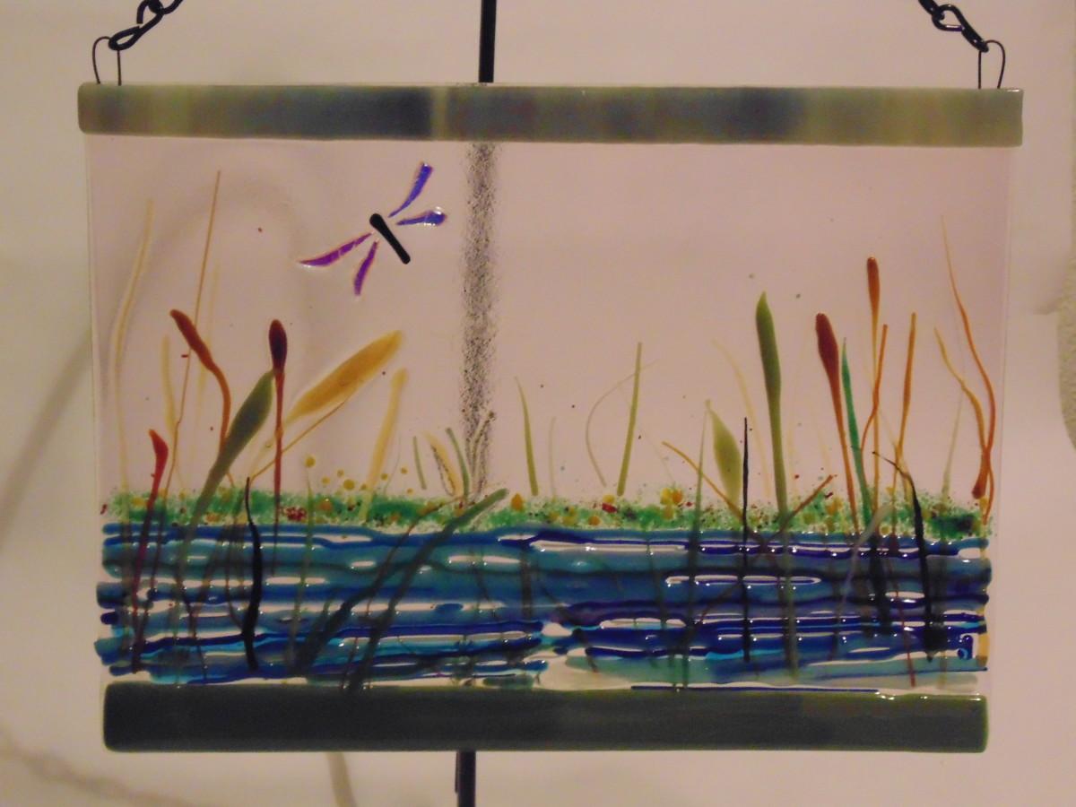 Garden Hanger-Dragonfly Pond