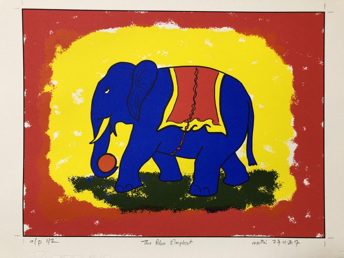The Blue Elephant by Martin Briggs