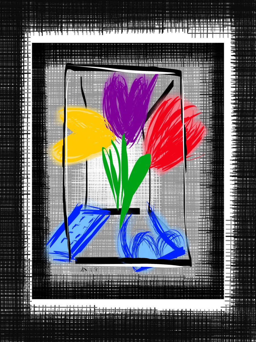 Still Life with Frame