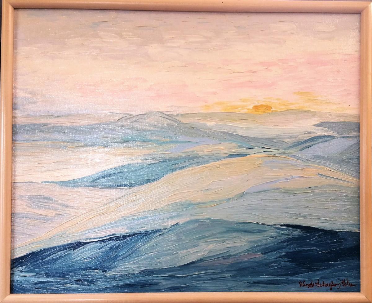 Winterscape #3 by Kevin D. Miles & Wendy Sue Schaefer Miles