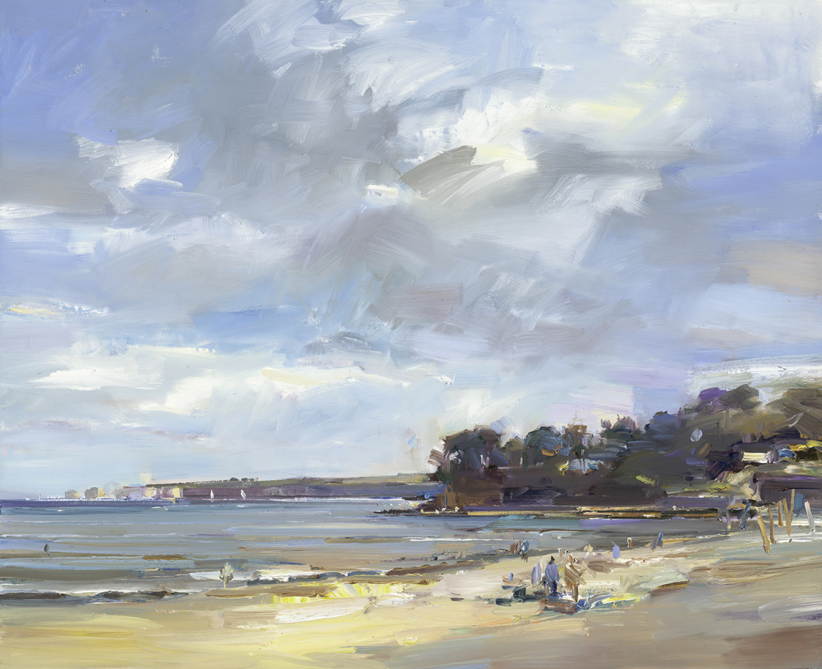 Summer on Studland Beach
