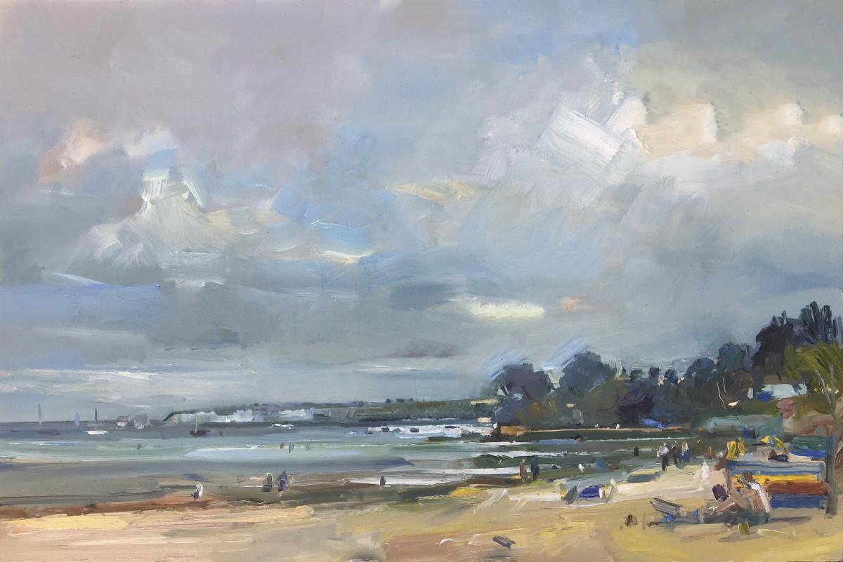 Summers Day on Studland Beach. Dorset