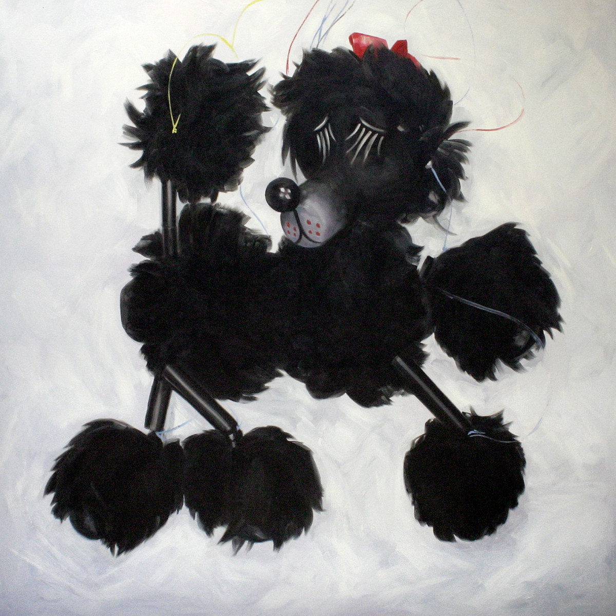 Lady Poodle, Pelham Puppet by Yvonne East