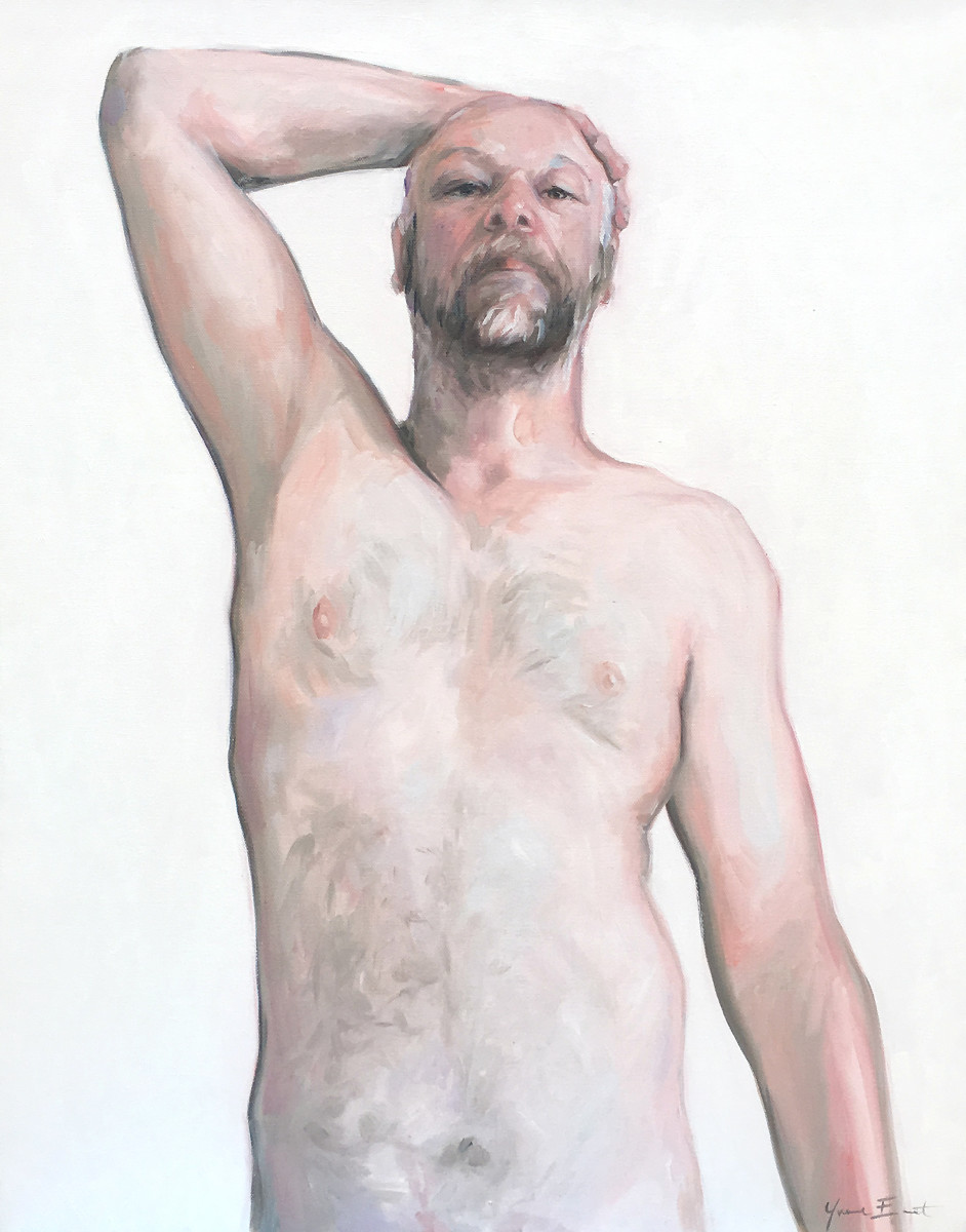 male study  by Yvonne East