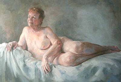 Portrait of Avis by Yvonne East