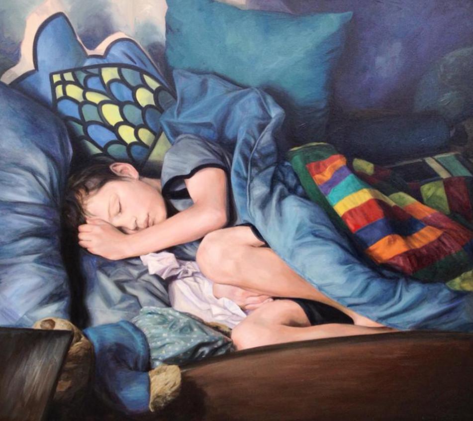 Portrait of Austen by Yvonne East