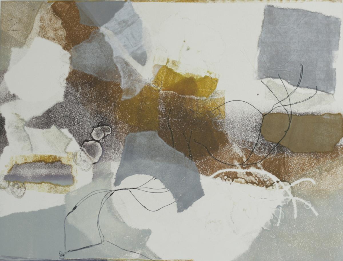 Blurred Boundaries E.V. 1 of 2 by Victoria Johns Art