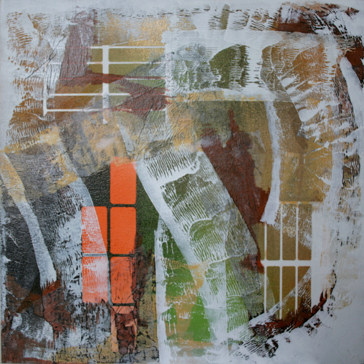 Order v Chaos Revisited IV by Victoria Johns Art