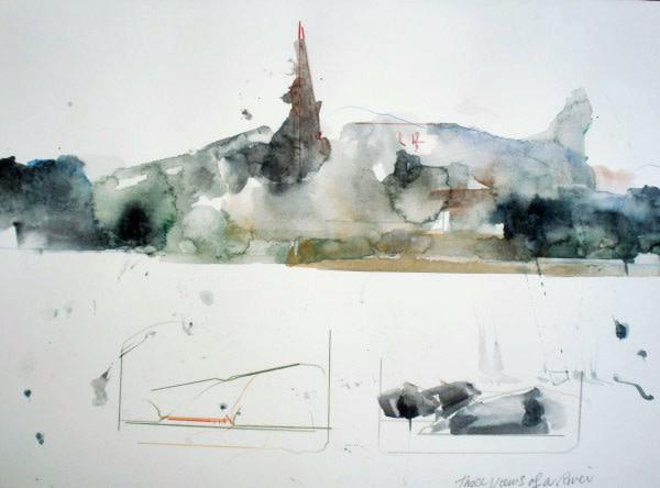 Three Views of a River by Ellen Mandelbaum