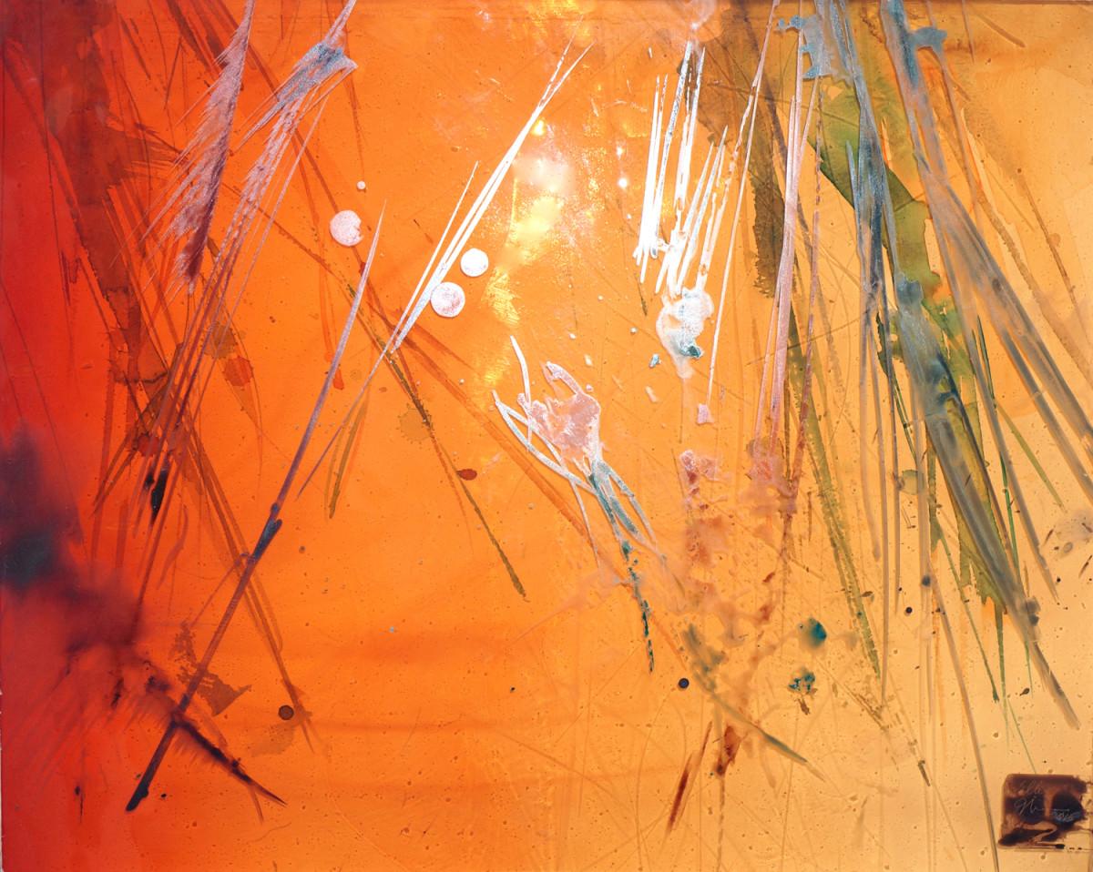 I Dream Of Golden Willows by Ellen Mandelbaum