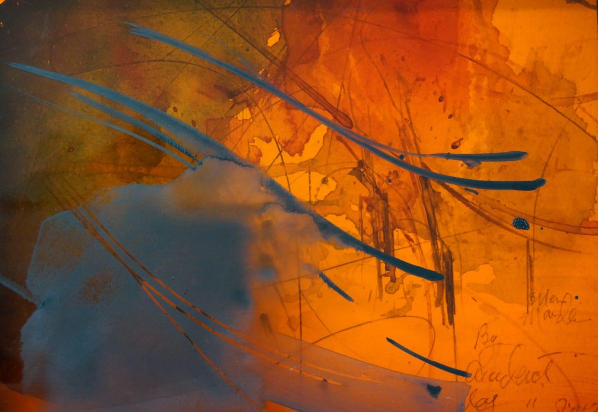 Orange Autum by Ellen Mandelbaum