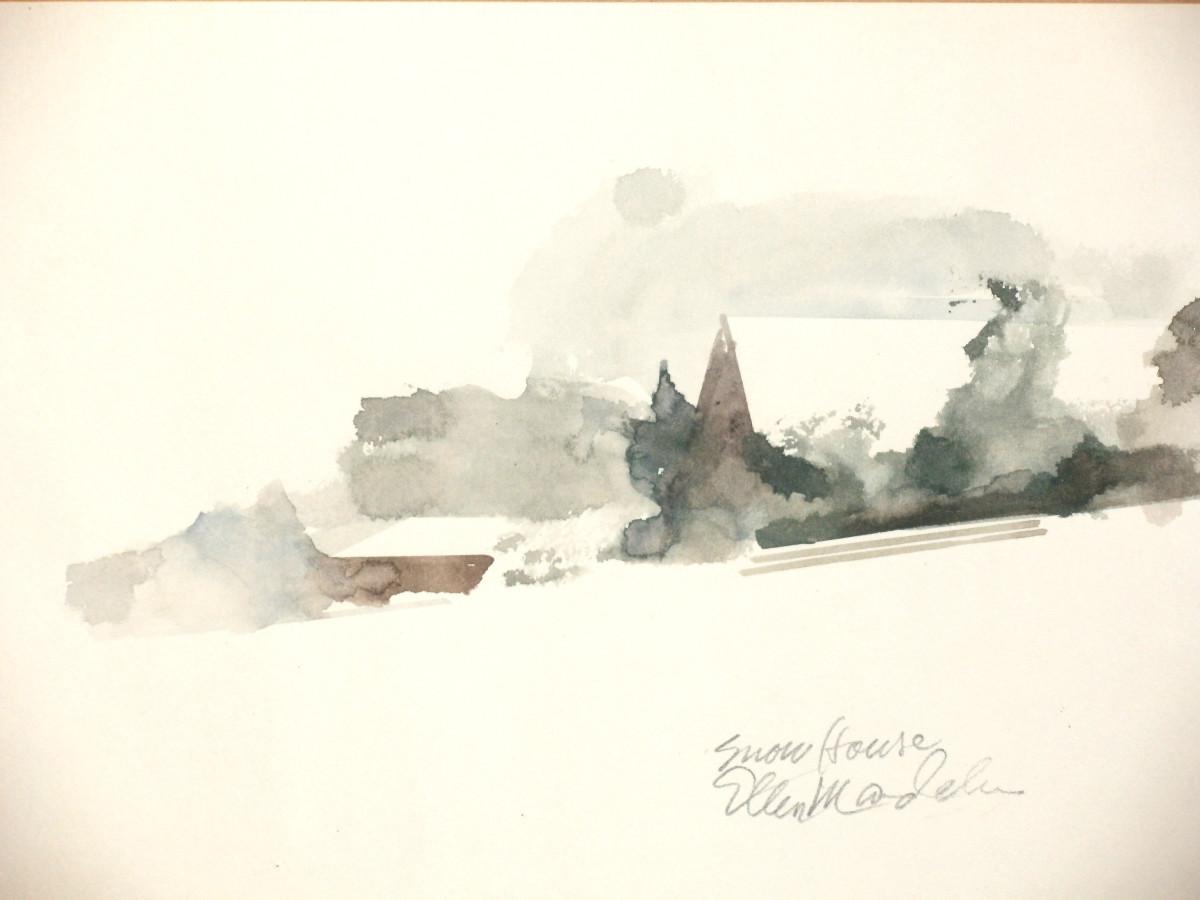 Snow House by Ellen Mandelbaum