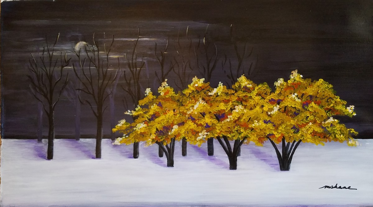 """Autumn Evening"" by M Shane"